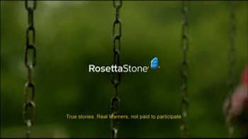 Rosetta Stone TV Spot For More Than Words - Thumbnail 1