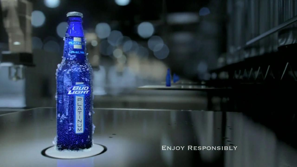 Bud Light Platinum TV Commercial, 'Factory'