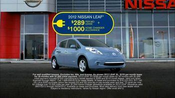 Nissan TV Spot For Nissan Leaf - 142 commercial airings