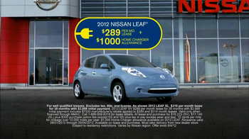 Nissan TV Spot For Nissan Leaf - 142 commercial airings