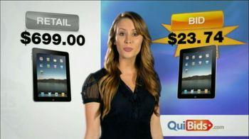 Quibids.com TV Spot For Saving 95%