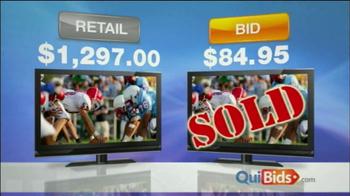 Quibids.com TV Spot For Saving 95% - Thumbnail 5