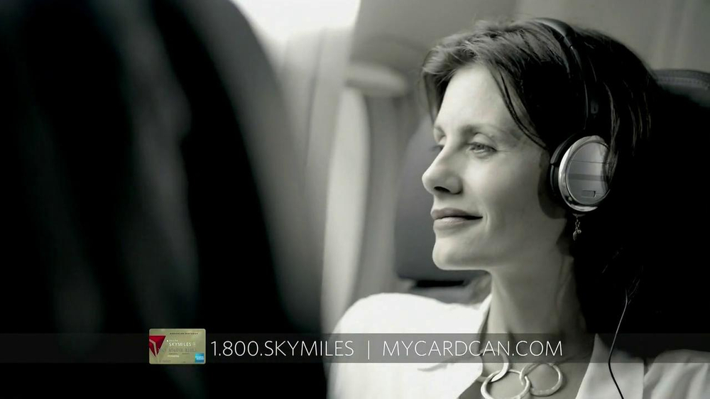 Delta Air Lines Skymiles Card TV Commercial, 'Travel'