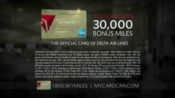 Delta Air Lines Skymiles Card TV Spot, 'Travel' - Thumbnail 6