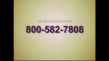 Goldwater Law Firm TV Spot For Actos - Thumbnail 7