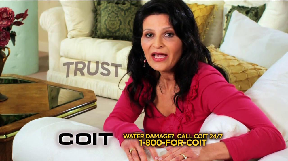 COIT TV Commercial Featuring Rosana Johns