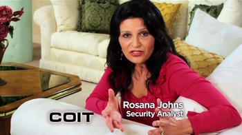 COIT TV Spot Featuring Rosana Johns - Thumbnail 1
