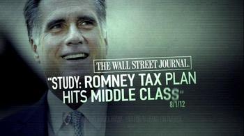 Obama for America TV Spot For Mitt Romney Tax Plan - Thumbnail 10