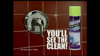 Kaboom TV Spot For Foam-Tastic Cleaner