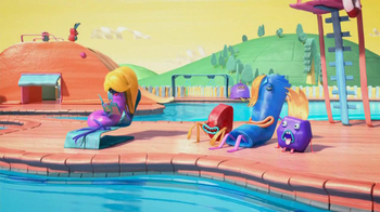 Fruitsnackia TV Spot, 'Swimming Pool' - Thumbnail 3