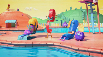 Fruitsnackia TV Spot, 'Swimming Pool' - Thumbnail 4