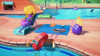 Fruitsnackia TV Spot, 'Swimming Pool' - Thumbnail 6