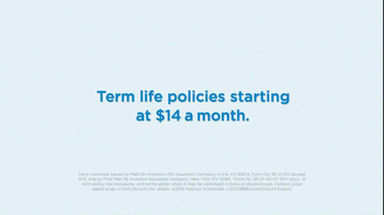MetLife TV Spot, '$14 Term Policies' - Thumbnail 10
