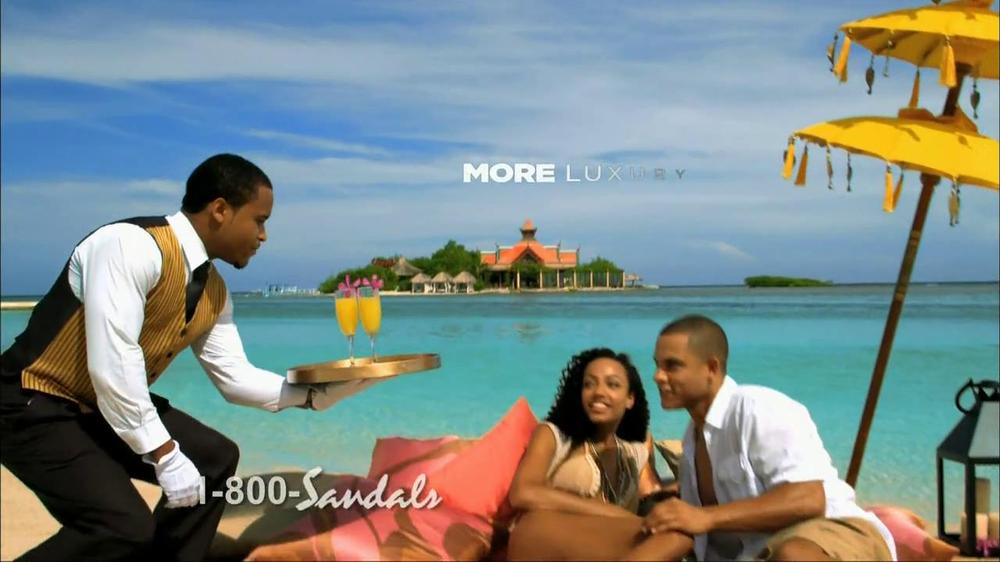 8f7e8029d6cf50 Sandals TV Commercial
