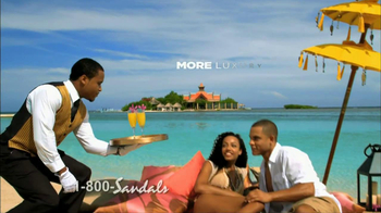 Sandals TV Spot, 'Get More'