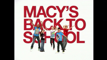 Macy's Back To School Event, TV Spot, 'Jeans' - 25 commercial airings