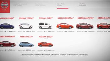 Nissan TV Spot For Choosenissan.com - Thumbnail 3
