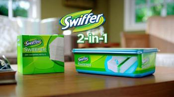 Swiffer 2-In-1 Sweeper TV Spot, 'Water Gun Fight' - Thumbnail 5