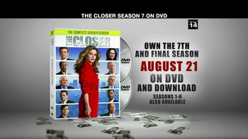 TNT TV Spot For The Closer Season 7 DVD
