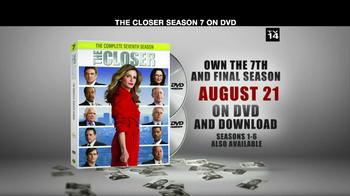 The Closer Season 7 DVD thumbnail