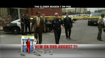 TNT TV Spot For The Closer Season 7 DVD - Thumbnail 2