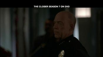 TNT TV Spot For The Closer Season 7 DVD - Thumbnail 3