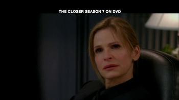TNT TV Spot For The Closer Season 7 DVD - Thumbnail 4