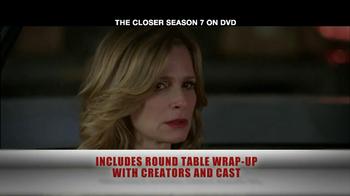 TNT TV Spot For The Closer Season 7 DVD - Thumbnail 6