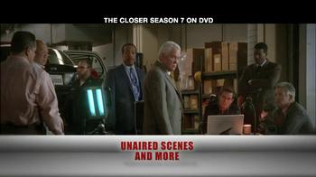 TNT TV Spot For The Closer Season 7 DVD - Thumbnail 7