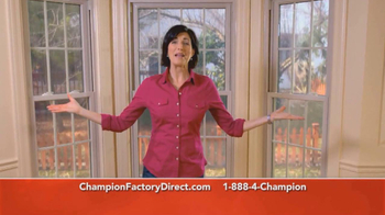 Champion Factory Direct TV Spot For Windows