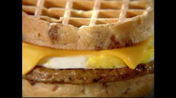 Jack in the Box Waffle Breakfast Sandwich TV Spot, 'Word Game: Swavory' - Thumbnail 6