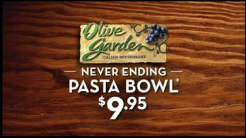 Olive Garden Never-Ending Pasta Bowl TV Spot - Thumbnail 1