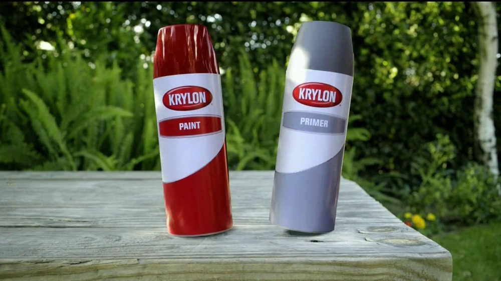 Krylon TV Commercial for Dual Paint And Primer
