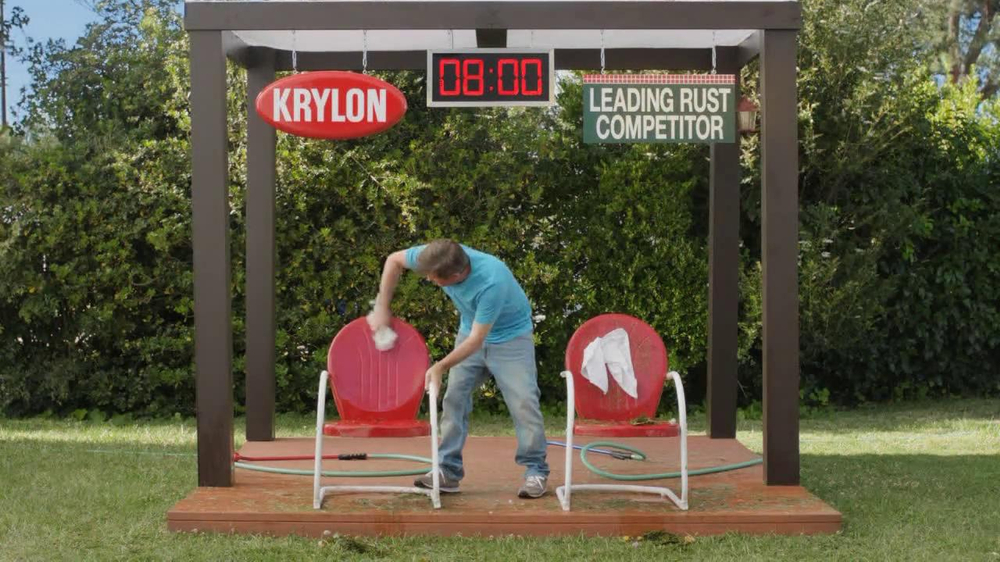 Krylon TV Commercial for Krylon Vs. Leading Brand