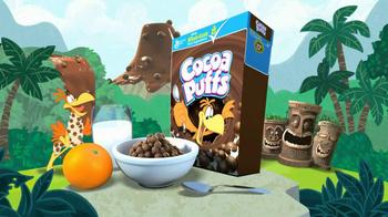 Cocoa Puffs TV Spot, 'Deserted Island' - Thumbnail 9