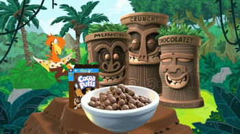 Cocoa Puffs TV Spot, 'Deserted Island' - 353 commercial airings