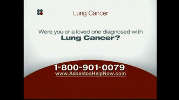 Sokolove Law, LLC TV Spot for Lung Cancer Diagnosis - Thumbnail 1