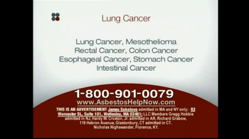 Sokolove Law, LLC TV Spot for Lung Cancer Diagnosis - Thumbnail 3