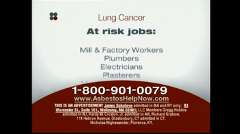 Sokolove Law, LLC TV Spot for Lung Cancer Diagnosis - Thumbnail 4