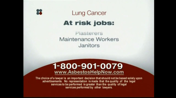 Sokolove Law, LLC TV Spot for Lung Cancer Diagnosis - Thumbnail 5