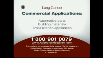 Sokolove Law, LLC TV Spot for Lung Cancer Diagnosis - Thumbnail 8
