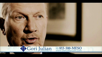 Gori Julian Law TV Spot for Mesothelioma Featuring Barry Julian - 67 commercial airings