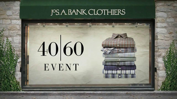 JoS. A. Bank TV Spot for 40/60 Event - 18 commercial airings