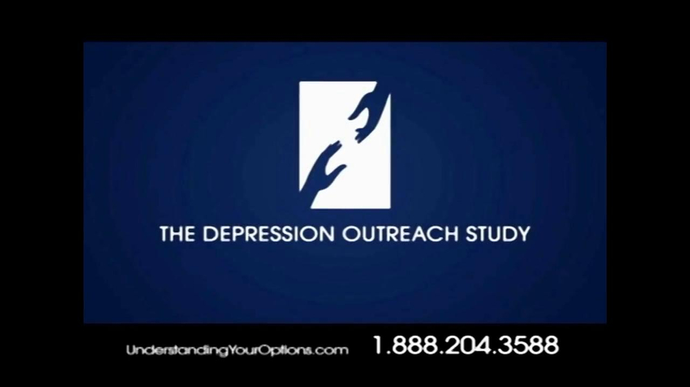 Depression Outreach Study TV Commercial for Understand Your Options