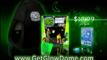 Glow Crazy TV Spot for Doodle Dome