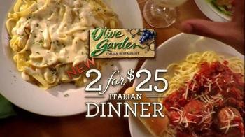 Olive Garden TV Spot For 2 For $25 Italian Dinner