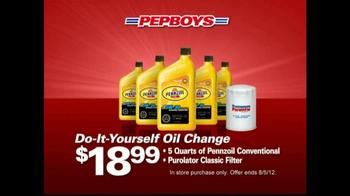 Pep Boys TV Spot For Oil Change Packages - Thumbnail 2
