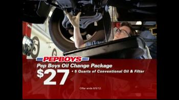 Pep Boys TV Spot For Oil Change Packages - Thumbnail 3