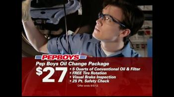 Pep Boys TV Spot For Oil Change Packages - Thumbnail 4