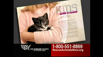 Humane Society TV Spot For Rescue Animals Now - Thumbnail 6
